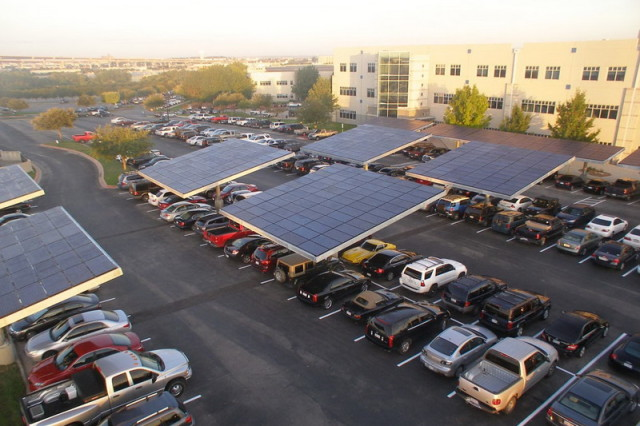 солнечная парковка