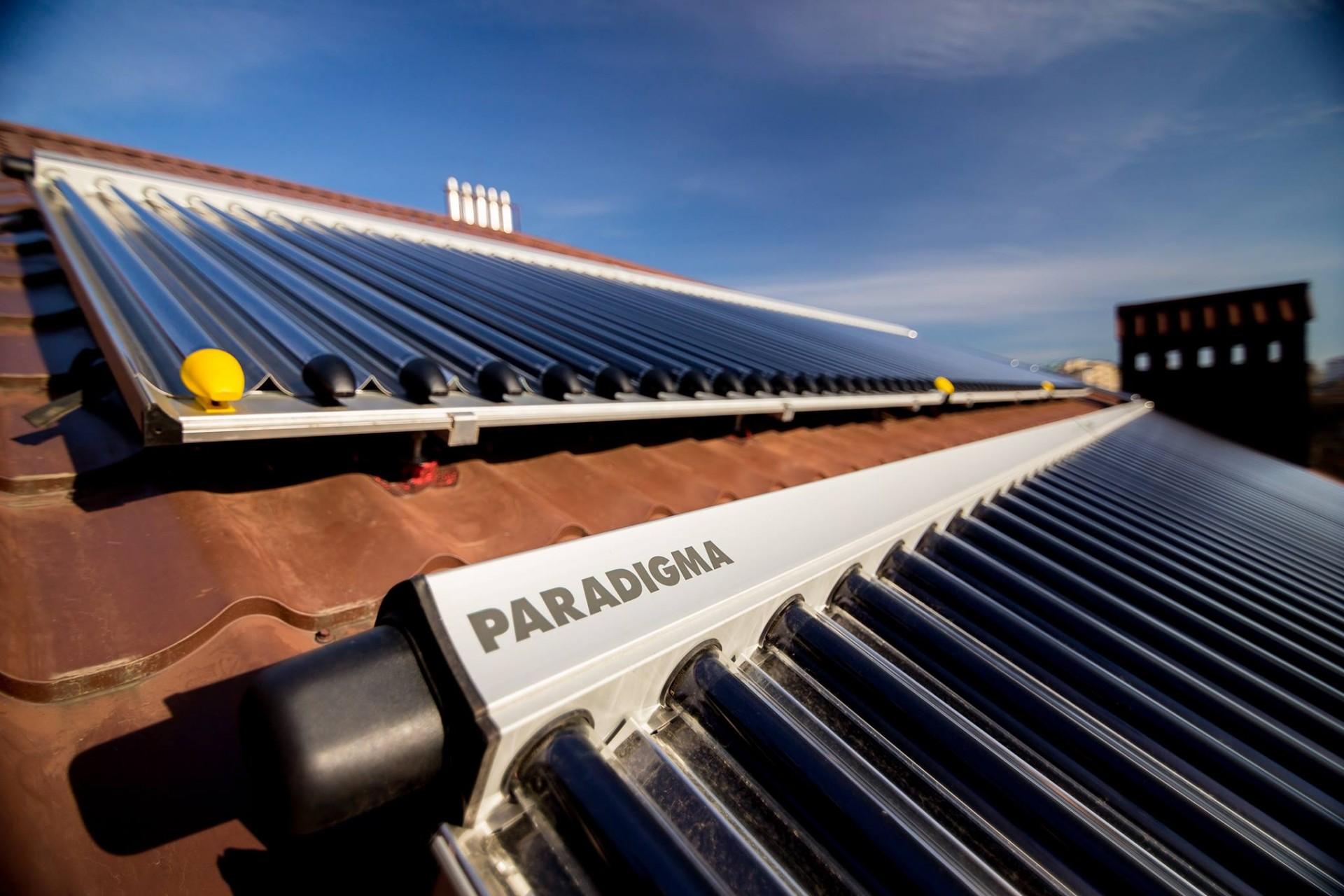 Вы можете в режиме online пересмотреть работу системы отопления и солнечной установки