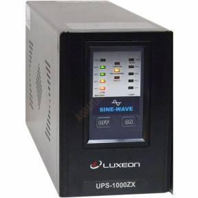 Бесперебойник LUXEON UPS 1000ZX