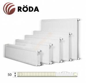 Радиатор Roda H500 11 R 500x500x50